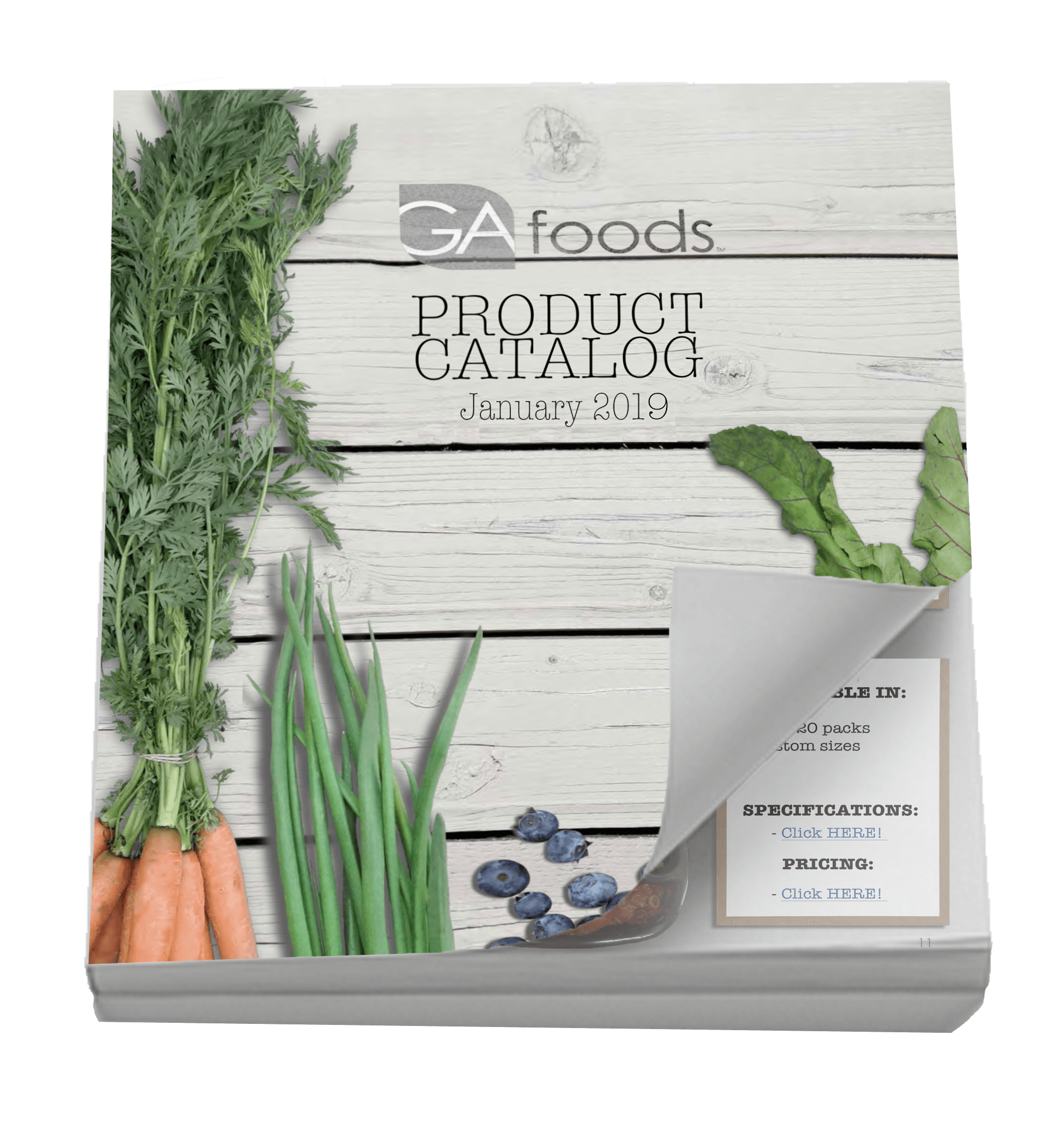 Product Catalog in 3D for CTA 2019