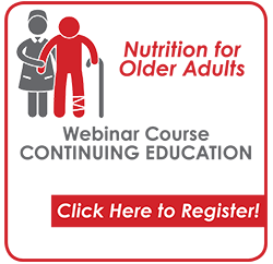 Nutrition for Older Adults Webinar CEU Course