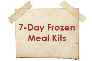 7 Day Frozen Meal Kits